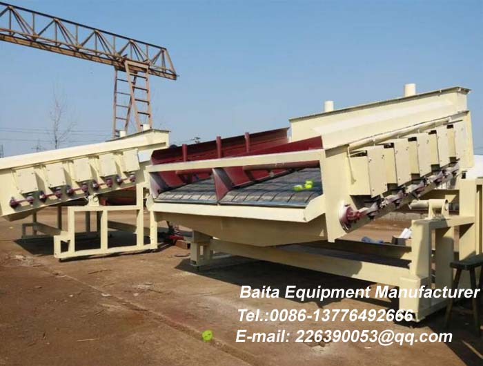Electromagnetic high frequency vibrating screen